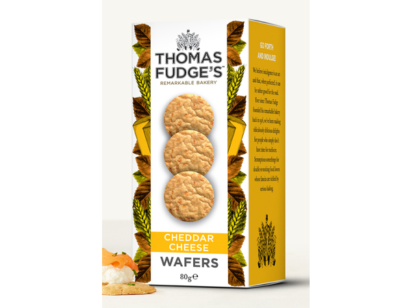 CHEDDAR CHEESE WAFERS